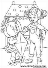 Pintar e Colorir Noddy - Desenho 127