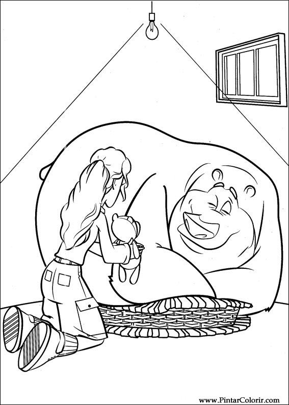 Pintar e Colorir O Bicho Vai Pegar - Desenho 001