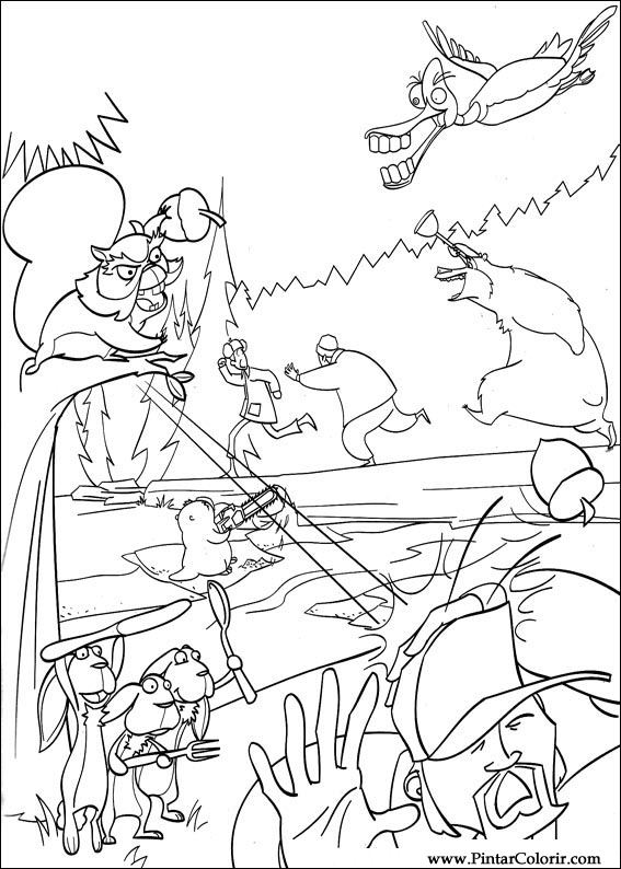 Drawings To Paint Colour The Beast Go Catch Print Design 031