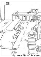 Pintar e Colorir O Bicho Vai Pegar - Desenho 012