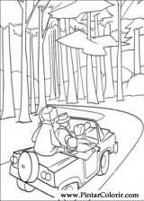 Pintar e Colorir O Bicho Vai Pegar - Desenho 026