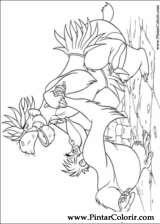 Pintar e Colorir O Livro Da Selva - Desenho 011