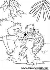 Pintar e Colorir O Livro Da Selva - Desenho 052