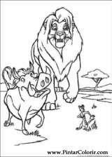 Pintar e Colorir O Rei Leao 3 - Desenho 006