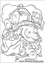 Pintar e Colorir O Rei Leao - Desenho 049