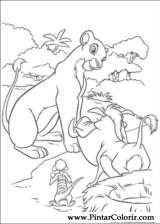 Pintar e Colorir O Rei Leao - Desenho 071