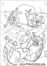 Pintar e Colorir O Rei Leao - Desenho 081