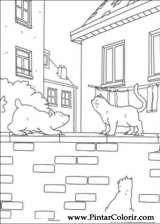 Pintar e Colorir O Ursinho Polar - Desenho 008