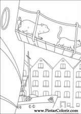 Pintar e Colorir O Ursinho Polar - Desenho 009