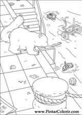 Pintar e Colorir O Ursinho Polar - Desenho 010