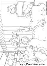 Pintar e Colorir O Ursinho Polar - Desenho 011