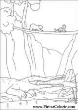 Pintar e Colorir O Ursinho Polar - Desenho 020