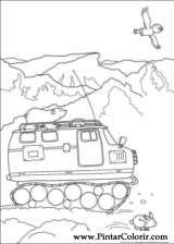 Pintar e Colorir O Ursinho Polar - Desenho 023