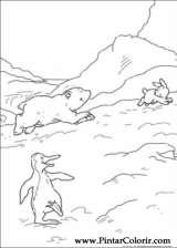 Pintar e Colorir O Ursinho Polar - Desenho 034