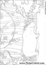Pintar e Colorir O Ursinho Polar - Desenho 044