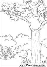 Pintar e Colorir O Ursinho Polar - Desenho 047