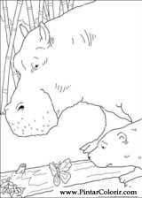 Pintar e Colorir O Ursinho Polar - Desenho 048