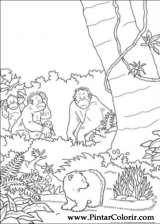 Pintar e Colorir O Ursinho Polar - Desenho 049