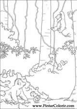 Pintar e Colorir O Ursinho Polar - Desenho 051