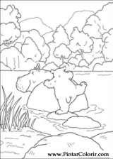 Pintar e Colorir O Ursinho Polar - Desenho 052