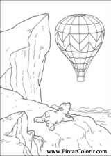 Pintar e Colorir O Ursinho Polar - Desenho 060