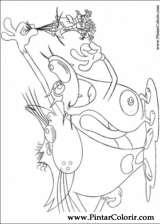 Pintar e Colorir Oggy Baratas - Desenho 008