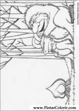 Pintar e Colorir Onde Vivem Os Monstros - Desenho 012