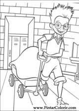 Pintar e Colorir Os Robinsons - Desenho 001