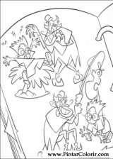 Pintar e Colorir Os Robinsons - Desenho 006