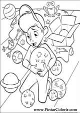 Pintar e Colorir Os Robinsons - Desenho 041