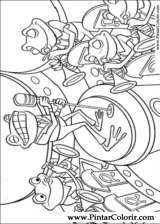 Pintar e Colorir Os Robinsons - Desenho 047