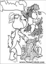 Pintar e Colorir Os Tres Porquinhos - Desenho 006