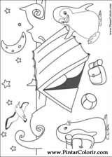 Pintar e Colorir Ozie Boo - Desenho 001