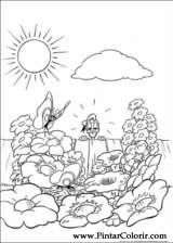 Pintar e Colorir Pato Donald - Desenho 035
