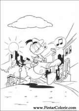 Pintar e Colorir Pato Donald - Desenho 071