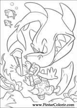 Pintar e Colorir Pato Donald - Desenho 104