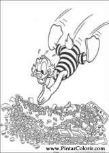 Pintar e Colorir Pato Donald - Desenho 126
