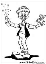 Pintar e Colorir Pato Donald - Desenho 141