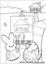 Pintar e Colorir Peeps - Desenho 005