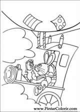 Pintar e Colorir Peter Cottontail - Desenho 059