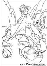 Pintar e Colorir Peter Pan - Desenho 012