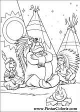 Pintar e Colorir Peter Pan - Desenho 018