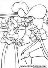 Pintar e Colorir Peter Pan - Desenho 024