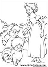 Pintar e Colorir Peter Pan - Desenho 041