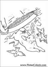 Pintar e Colorir Peter Rabbit - Desenho 004