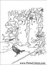 Pintar e Colorir Peter Rabbit - Desenho 010