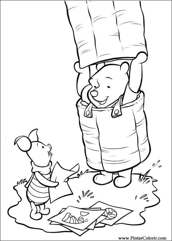 desenhos para pintar e colorir piglet  imprimir desenho 005