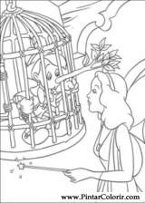 Boya Ve Boyama Pinokyo Için çizimler Sayfa 2