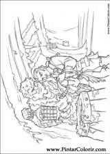 Pintar e Colorir Piratas Do Caribe - Desenho 016