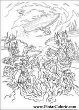 Pintar e Colorir Piratas Do Caribe - Desenho 022